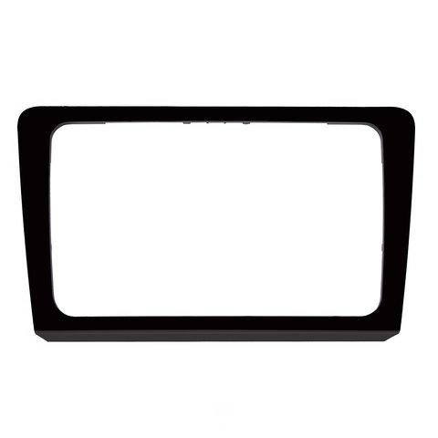 Переходная рамка для Volkswagen Bora 2013 14 г.в. для RCD510, RNS510, RCD310, RNS310, RNS315 черная
