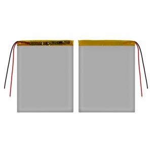 Battery, (95 mm, 80 mm, 3.2 mm, Li-ion, 3.7 V, 2600 mAh)
