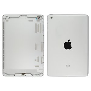 Back Cover for Apple iPad Mini Tablet, (silver, (version Wi-Fi))