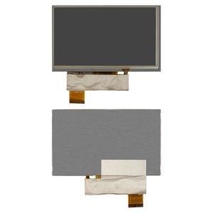 LCD for Navi N60 BT; GPS 6,0' Car Navigators, (with touchscreen, 6.0