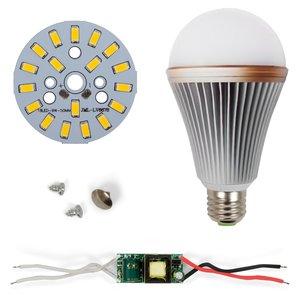 LED Light Bulb DIY Kit SQ-Q24 5730 E27 9 W – warm white