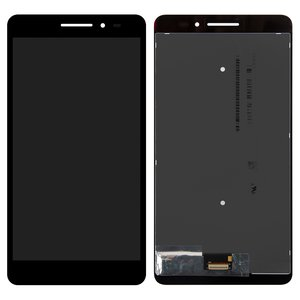 LCD for Lenovo Phab Plus PB1-770M LTE Tablet, (black, with touchscreen)