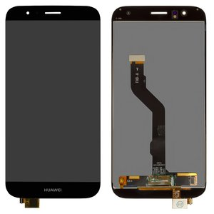 LCD compatible with Huawei G8, (black, with touchscreen, Original (PRC), RIO-L01)