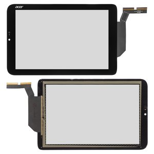 Touchscreen for Acer Iconia Tab W3-810 Tablet, (black)