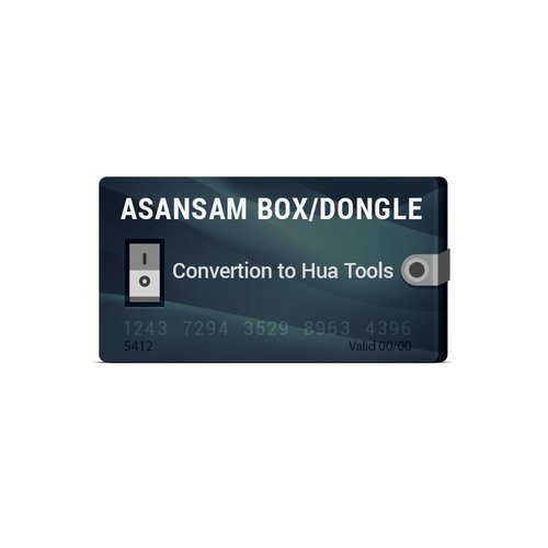 Transformación de Asansam Box/Dongle en Hua Tools