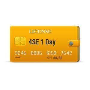 4SE лицензия на 1 день
