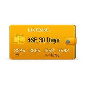 4SE лицензия на 30 дней