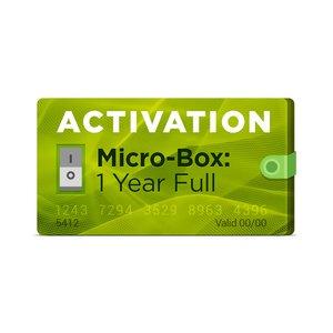 Micro-Box: Полная активация на 1 год