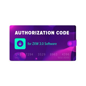 Код авторизации для ПО ZXW 3.0