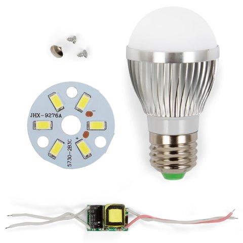 Комплект для збирання світлодіодної лампи SQ Q01 5730 3 Вт холодний білий, E27