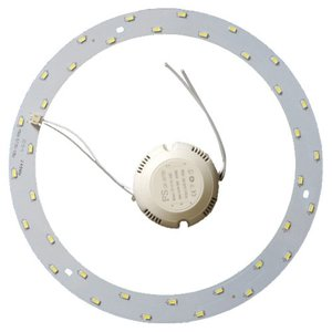 Комплект для збирання світлодіодного світильника 18 Вт (природний білий, круглий, 4000-4500 К)