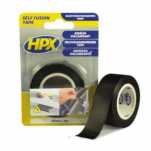 Стрічка вулканізуюча HPX 19 мм, 10 м, чорна (картонна упаковка)