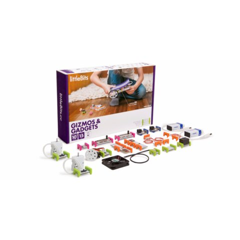 LittleBits Gizmos & Gadgets Kit - /*Photo|product*/