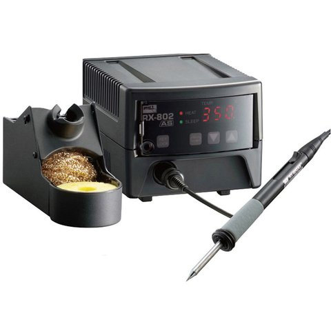 Temperature Controlled Lead Free Soldering Station GOOT RX 802AS