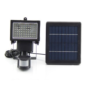 LED Solar Outdoor Light SL-60 (motion sensor, 600 lm, 7.4 V, 2000 mAh)